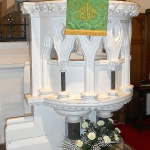 Pulpit designed by George Street