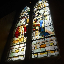 The Annunciation window.