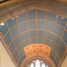 Chancel roof