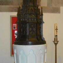 St Benedict's font