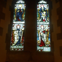 The saints windows.