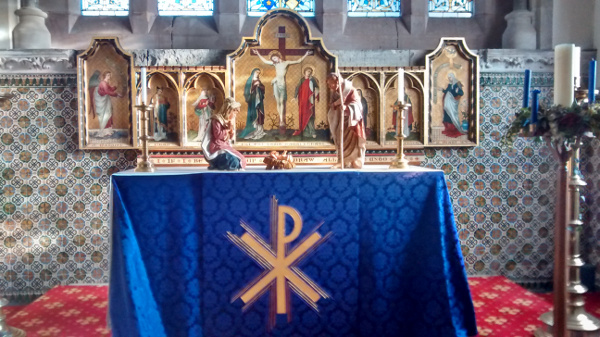 Christmas Altar 2016