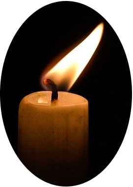 Remebrance candle