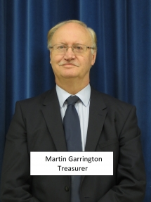 Martin Garrington - Treasurer