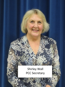 Shirley Wall - P.C.C. Secretary